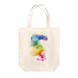 虹乱 Tote bags