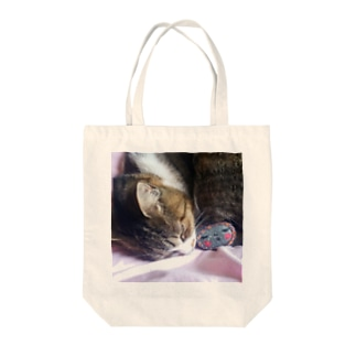 猫とイシイさん Tote bags