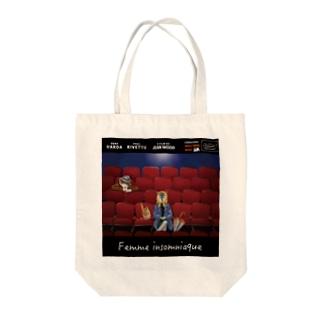 映画「インソムニアの女」公開記念トートバック Tote bags
