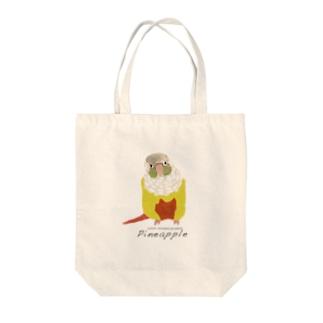ウロコインコ P Tote bags