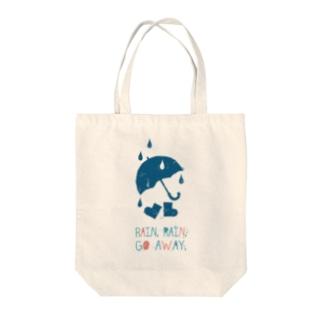Rain, Rain, Go Away Tote bags