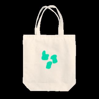 t1ksrwの意味を成さない図形 Tote bags