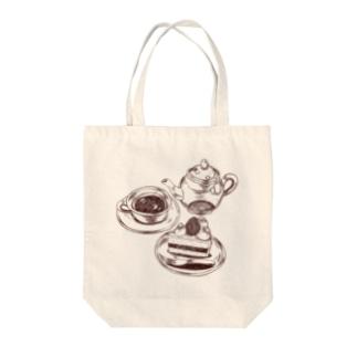 ティーセット Tote bags