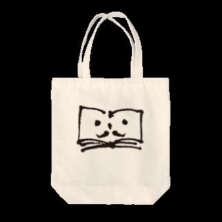 ブクログのお店のヒゲのブックントートバッグ