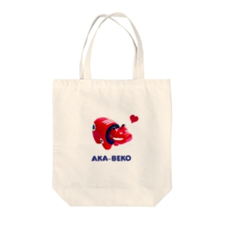 AKA-BEKO Tote bags