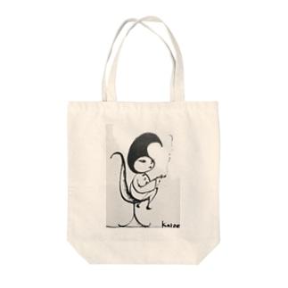 Pixlast【Fall〈ファル〉】タバコver. Tote bags