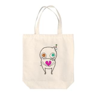 かいぶつさん Tote bags