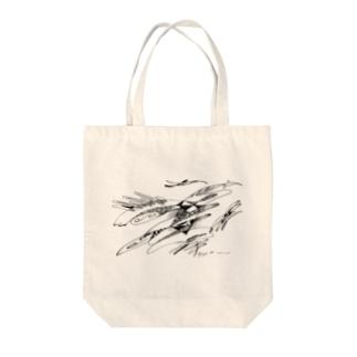 Phoenix / 不死鳥 Tote bags