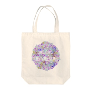 Crystal☆Flower Tote bags