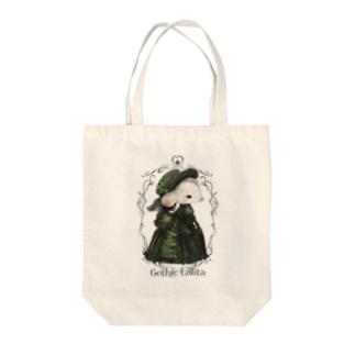 Gethic✝︎Lolita 「黒薔薇ねずみ」 Tote bags