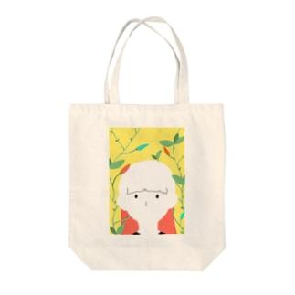 つぼみと女の子 Tote Bag