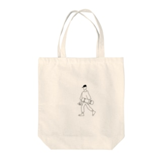 スケボーくん Tote bags