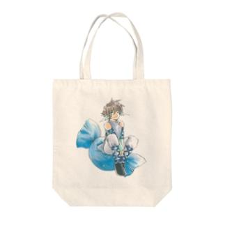 ホワイトデー Tote bags