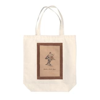オーケストラのバイオリニスト Tote bags