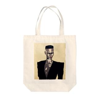 GRACE JONES Tote bags
