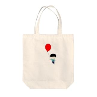 風船しょま Tote bags