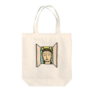 KANNONBIRAKI(文字無し) Tote bags