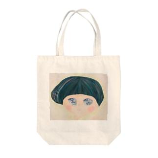 きらきらおめめちゃん Tote bags