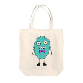 もふにー Tote bags