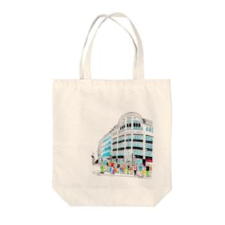 Berlinシリーズ「信号待ち」 Tote bags