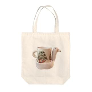 とりカップ Tote bags