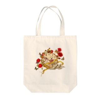 Time is beautiful Tote bags