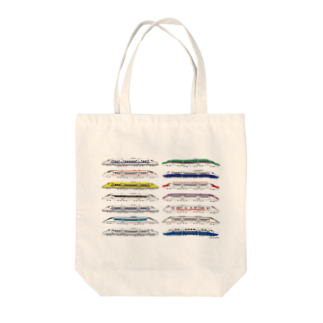 ZOUSAN STOREの新幹線2017 A Tote bags