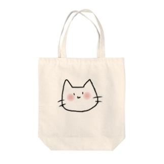 てきとうねこ Tote bags