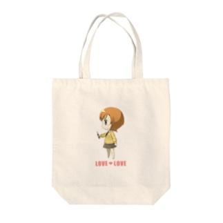Q-Girl Tote bags