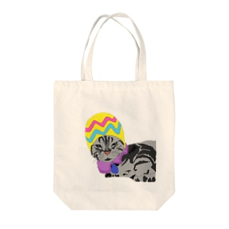 我が家のオレオ Tote bags