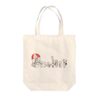 あいすやさん Tote bags