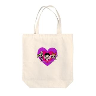 power puff girl's Vol.2 Tote bags