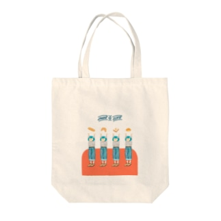 ゆうじゅうふだんガール2 Tote bags