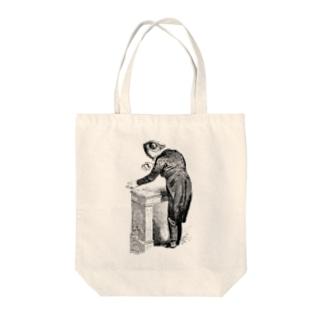 グランヴィル「カメレオン」 <アンティーク・プリント> Tote bags