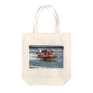 The Spirit of Boat Race Tote bags
