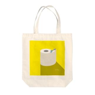 昼のSAME Paper Tote bags