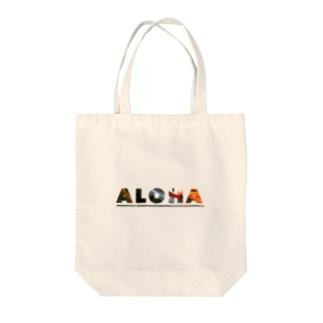 Aloha - Bird of Paradise (極楽鳥花) Tote bags