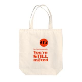 Offset Logo Tote Bag