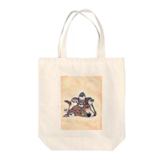 もふもフンボ(ヒナ) Tote bags