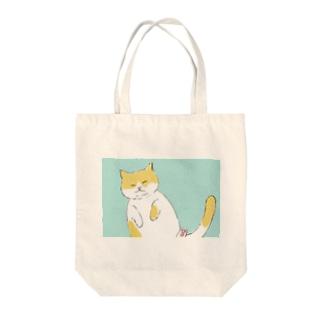 癒しへそ天猫さん Tote Bag