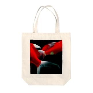 錦鯉の鰭 Tote bags