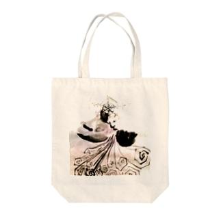 雪女 Tote bags