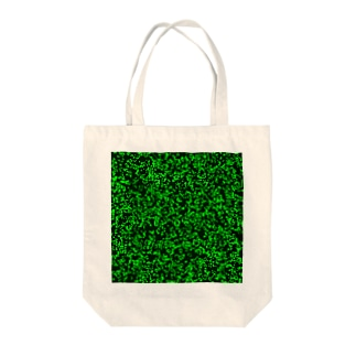 Game of Life(Black&Green)_01 Tote bags