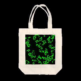 レオナのGame of Life(Black&Green)_02 Tote bags