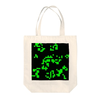 Game of Life(Black&Green)_03 トートバッグ