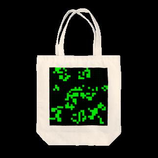 レオナのGame of Life(Black&Green)_03 Tote bags
