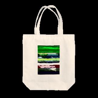 レオナのGlitch(Stream) Tote bags