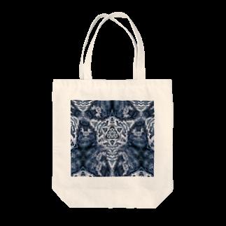 momenkoTWの波模様/カラー03 Tote bags