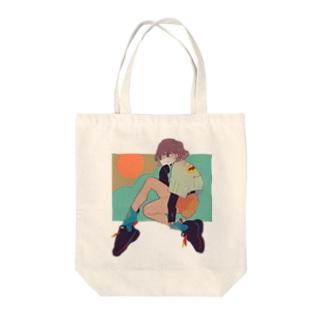 らしく Tote bags