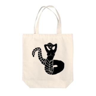 画像03 Medusa02 Tote bags